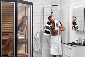 What to do after a sauna
